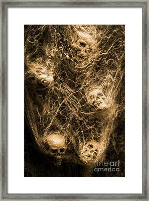 Web Of Entrapment Framed Print