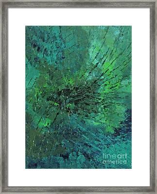 Web Of Jealousy Framed Print by Shelly Wiseberg