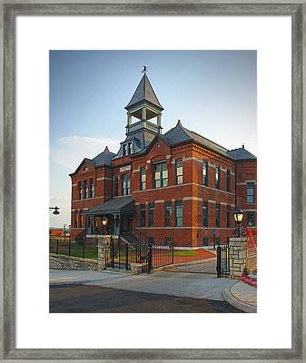 Webster House Framed Print