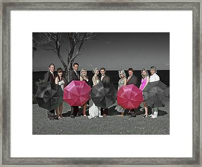 Wedding 6 Framed Print by Elisabeth Dubois