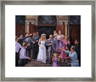 Wedding Bells Framed Print