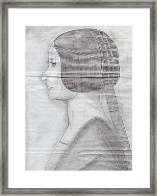 Wedding Bride Framed Print