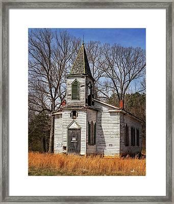 Framed Print featuring the photograph Wedding Chapel by Alan Raasch