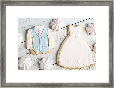 Wedding Cookies Framed Print