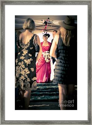 Wedding Couple Framed Print by Jorgo Photography - Wall Art Gallery