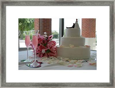Wedding Day Framed Print by Beverly Hammond