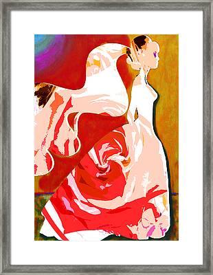 Wedding Day Framed Print by Tami Dalton