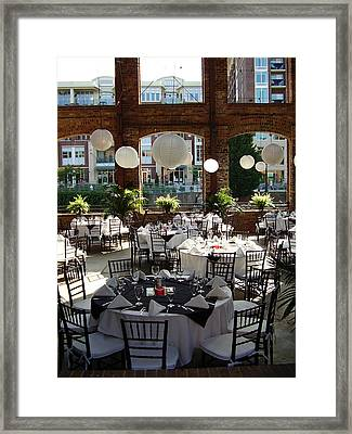 Wedding Framed Print