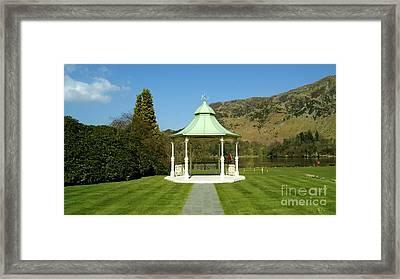 Wedding House Framed Print
