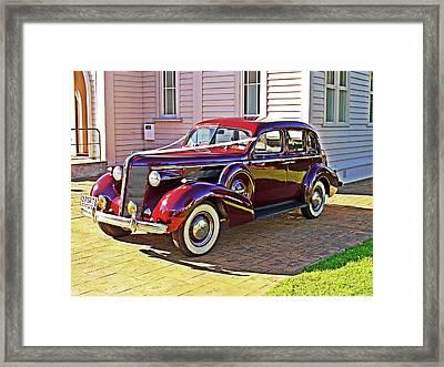 Wedding Limousine Framed Print by Kenneth William Caleno