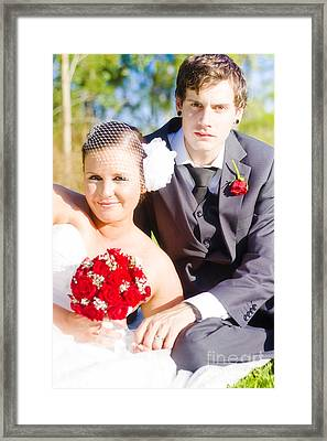 Wedding Portrait Framed Print by Jorgo Photography - Wall Art Gallery