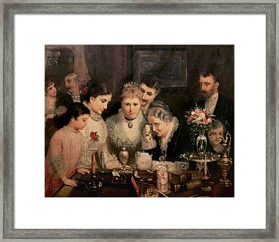 Wedding Presents Framed Print by JW Champney