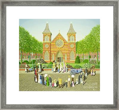 Wedding Ring Framed Print by Peter Szumowski