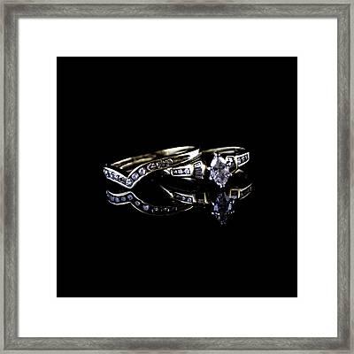 Wedding Ring Framed Print