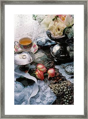 Wedding Rings Framed Print by Garry Gay