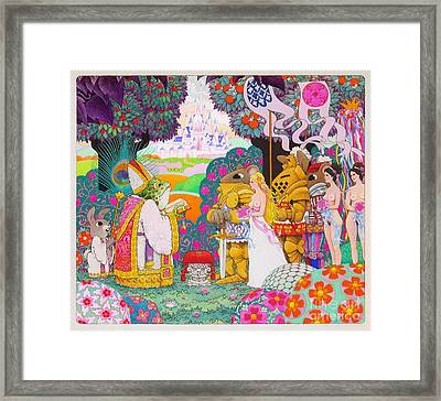 Wedding Framed Print by Terry Anderson