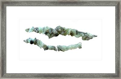 Wedgetail Eagles Devitrified Framed Print by Sarah King