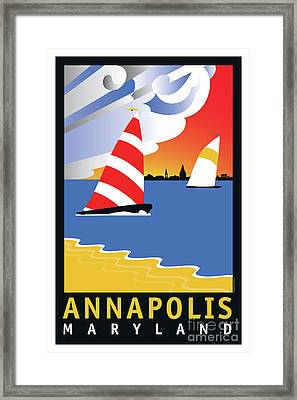 Wednesday Afternoon Framed Print by Joe Barsin