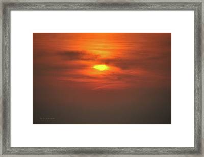 Framed Print featuring the photograph Wednesday Morning by Michael Flood