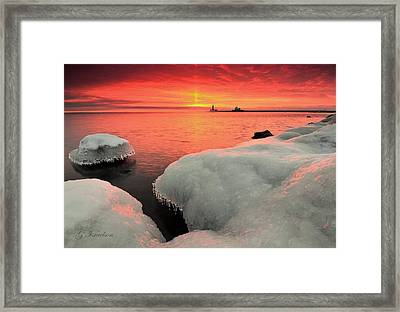 Wednesday Witness Framed Print