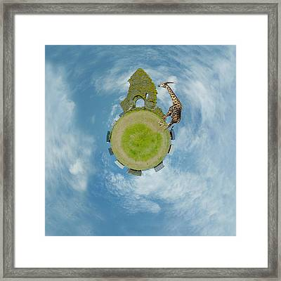 Wee Chapel Ruins Framed Print by Nikki Marie Smith