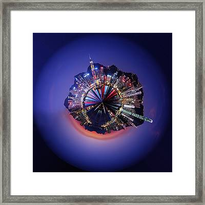 Wee Hong Kong Planet Framed Print