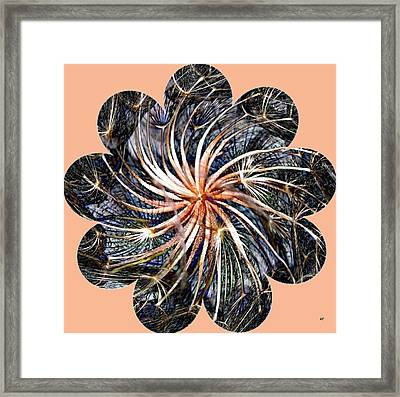 Weed Whirl Framed Print by Will Borden