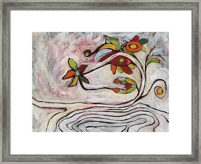 Weeds1 Framed Print