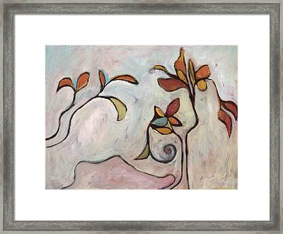 Weeds3 Framed Print by Michelle Spiziri
