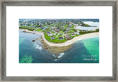 Weekapaug Point Framed Print