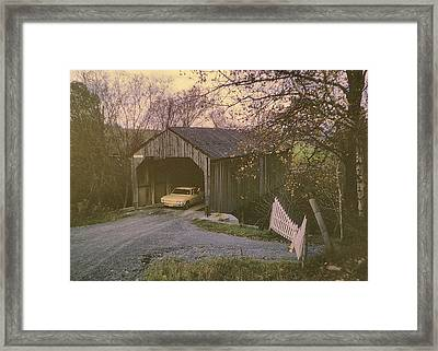 Weekend In New England Framed Print by JAMART Photography