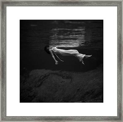 Weeki Wachi Spring, Florida, Photograph Framed Print