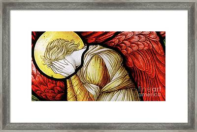 Weeping Angel, 1886 Framed Print
