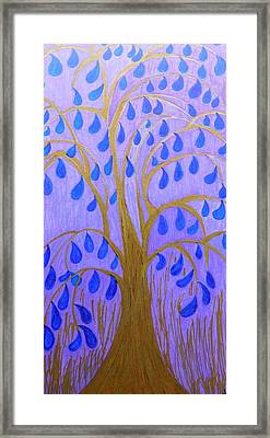 Weeping Tree Framed Print