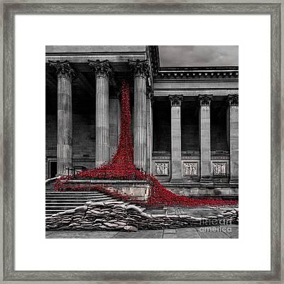 Weeping Window Framed Print