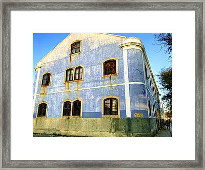 Weeping Windows Framed Print