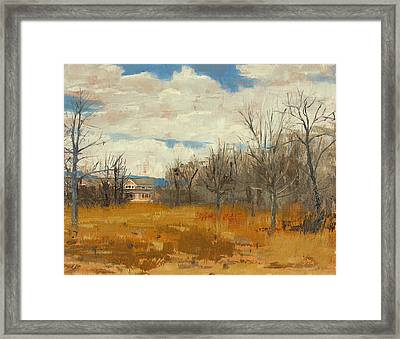 Wehr Nature Center No.1 - 2011 Framed Print by Anthony Sell