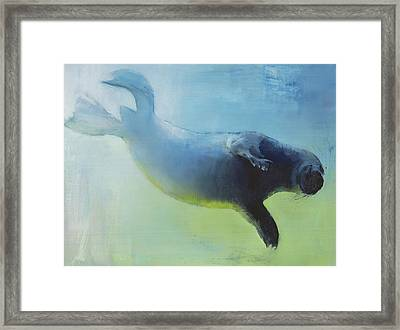 Weightless Framed Print by Mark Adlington