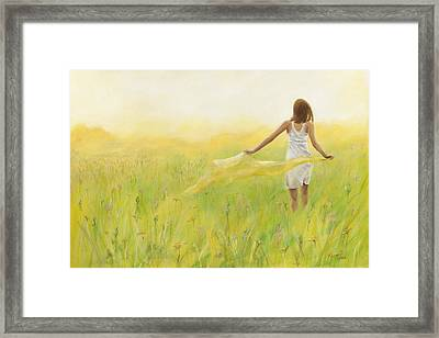 Weightless Framed Print by Pennie Strople