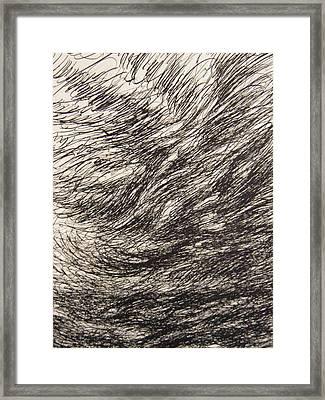 Weighty Framed Print by Uwe Schein