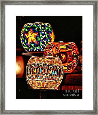 Framed Print featuring the photograph Weihnachtslichter IIi by Jack Torcello