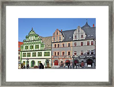 Weimar Germany - A Town Of Timeless Appeal Framed Print