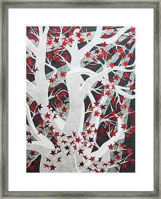 Weirwood Framed Print