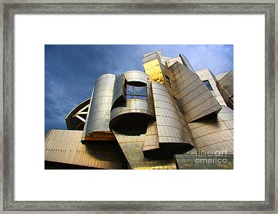 Weisman Art Museum University Of Minnesota Framed Print by Wayne Moran