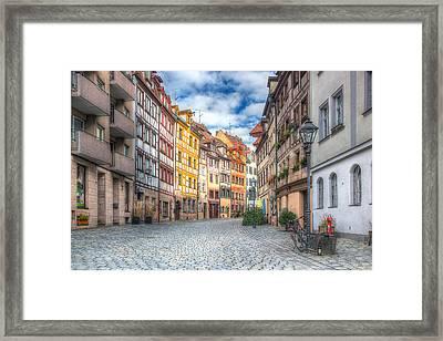 Weissgerbergasse Framed Print