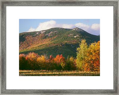 Welch And Dickey Mountains Framed Print