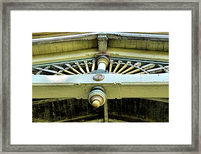 Welcome Details Framed Print by JAMART Photography