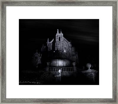 Welcome Foolish Mortals Framed Print