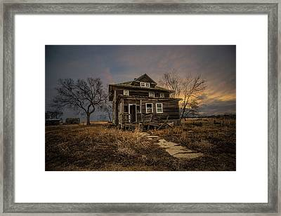 Framed Print featuring the photograph Welcome Home by Aaron J Groen