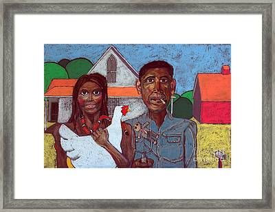 Welcome Home America Framed Print by David Hinds